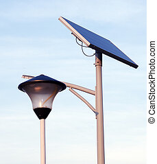street lighting, solar energy