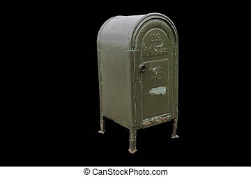 Street mail box for Brooklyn New York