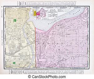 Street Map Kansas City Missouri Kansas City Kansas