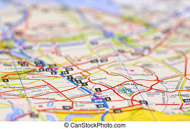 Street Map - Street Level Map