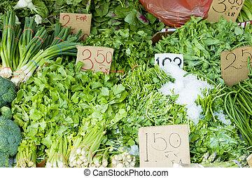street market, China Town, New York City, USA