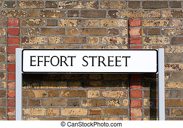 street:, max, kép, maximum, aláír, fogalmi, erőfeszítés, út