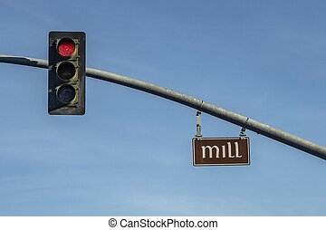 street name of historic quarter in San Luis Obispo, USA