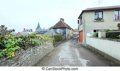 Street of a small European town