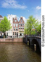 street of   Amsterdam, Holland