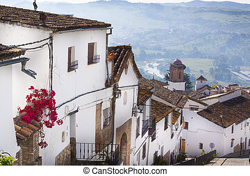 Street of an old Spanish town