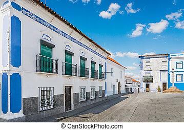 Street of Arraiolos - Beautiful street of Arraiolos,...