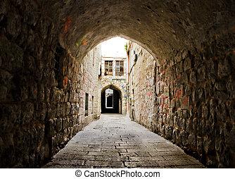 Street of Jerusalem from Israel