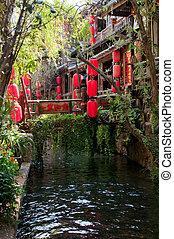 street of lijiang old town, yunnan, china