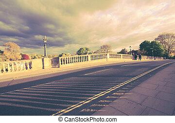 Street of Richmond, London, England, UK