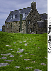 Street of the Dead at Iona Abbey