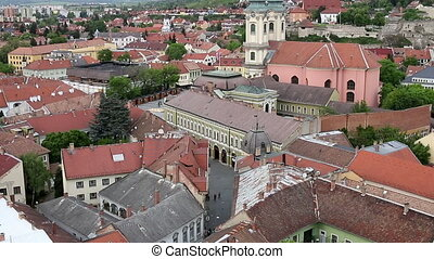Street old town Eger