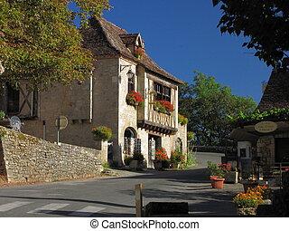 Street, old village