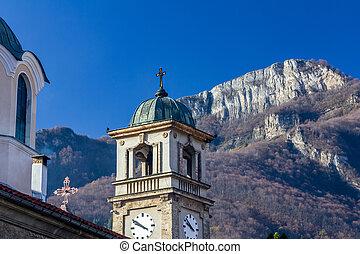 Christian church in the town of Teteven, Bulgaria