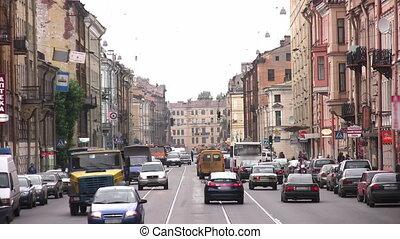 street Petersburg - Street in Petersburg