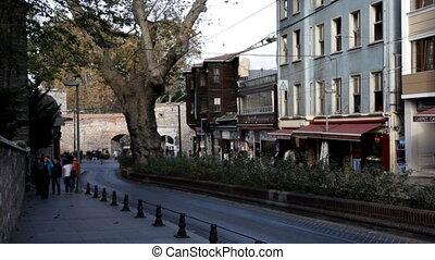 street scene - city scene, shooting Canon 5D MarkII