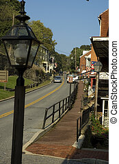 Street Scene, Harpers Ferry, Virginia
