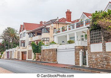 Street scene in St. James, Cape Town