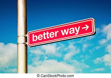 Better way