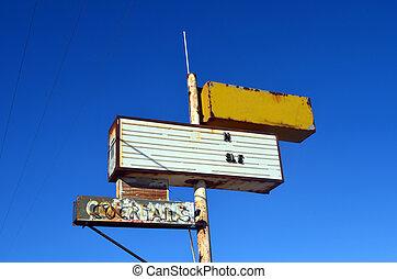 Street Sign - Retro street signs