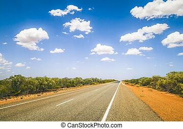 street to horizon - An image of a nice road to the horizon