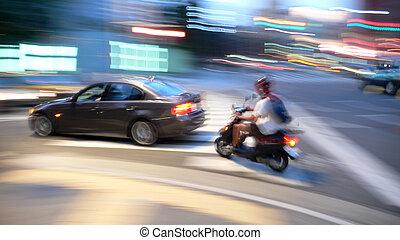 street traffic in mo