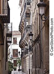 Street view in Valencia. Spain