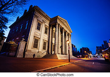 Street view of USA First Bank in Philadelphia