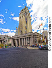 Street view on Thurgood Marshall United States Courthhouse