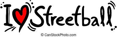 streetball, amore