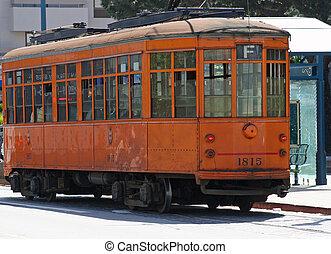 Streetcar in San Francisco