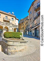Garibaldi Square in San Marino - Streets and Garibaldi ...
