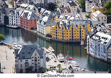 streets of Alesund