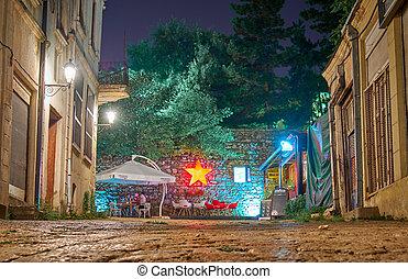 Streets of the Old City in Skopje