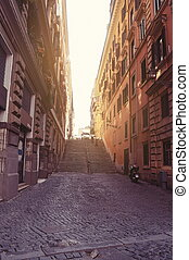 Streets of the old Italy