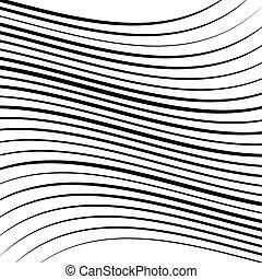 strepen, achtergrond., effect, kroes, squish, lijnen, ...