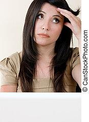 stress, arbejde kvinde