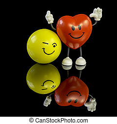 Stress balls with personality
