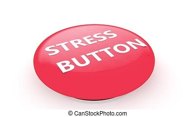Stress button animation - 3D animation of a simple objects...