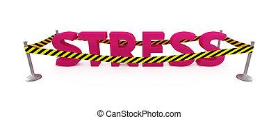 stress, gebied