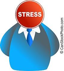stress, gezicht