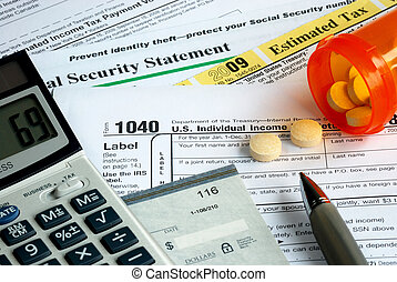 Stress in filing the tax return