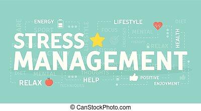 Stress management concept. - Stress management concept ...