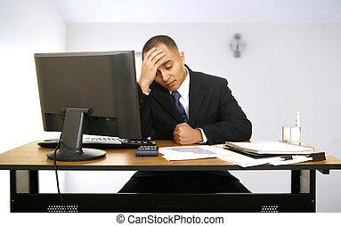 stress, nog, werkende