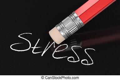 stress, raderen
