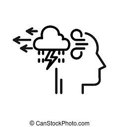 stress relief illustration design