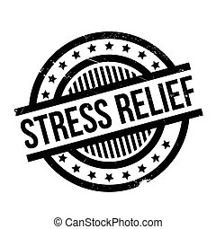 Stress Relief rubber stamp