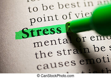 stress - Fake Dictionary, definition of the word stress.