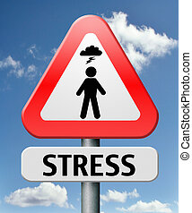 stress disorder from acute work pressure is a factor...