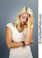 stress, ung kvinde